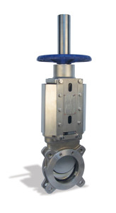 KGV-UDH Manual Operation Uni-directional Resilient Seated Stainless Steel Knife Gate Valve